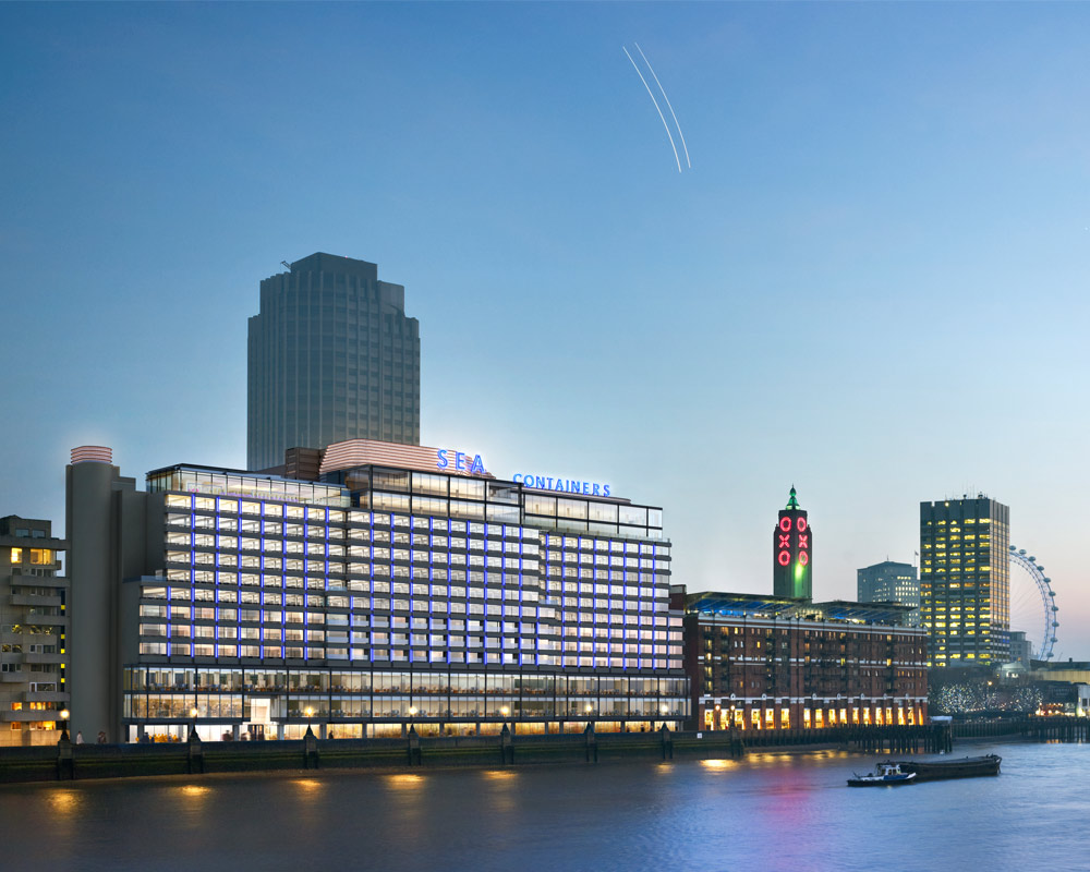Mondrian At Sea Containers London Top Hotels