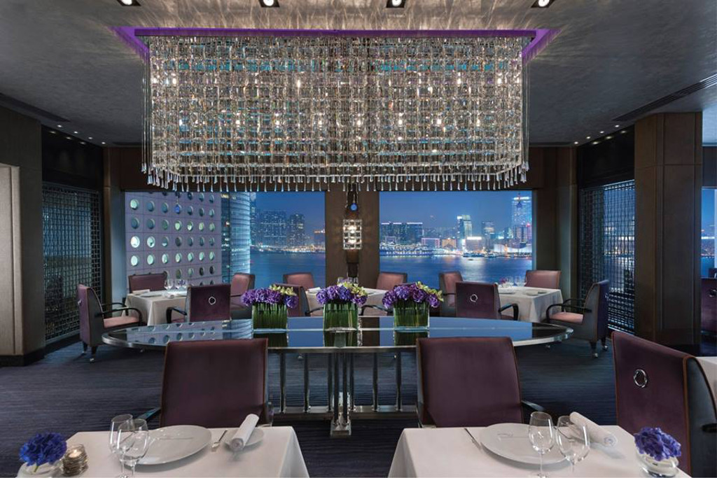 pierre restaurant hong kong has special holidays menus. Black Bedroom Furniture Sets. Home Design Ideas