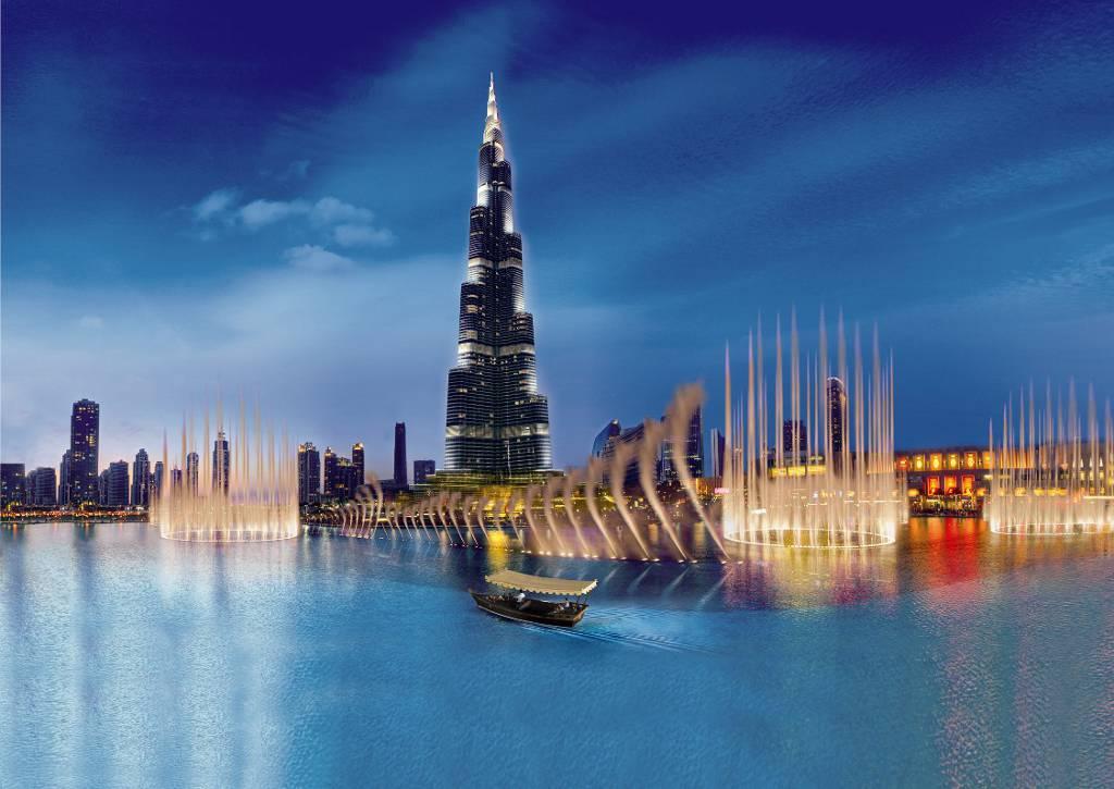 The-Dubai-mall-fountain