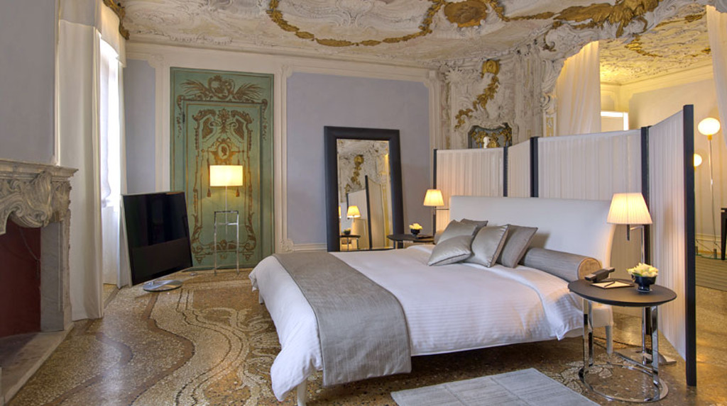 Aman canal grande luxury hotels venice for Design hotel venise