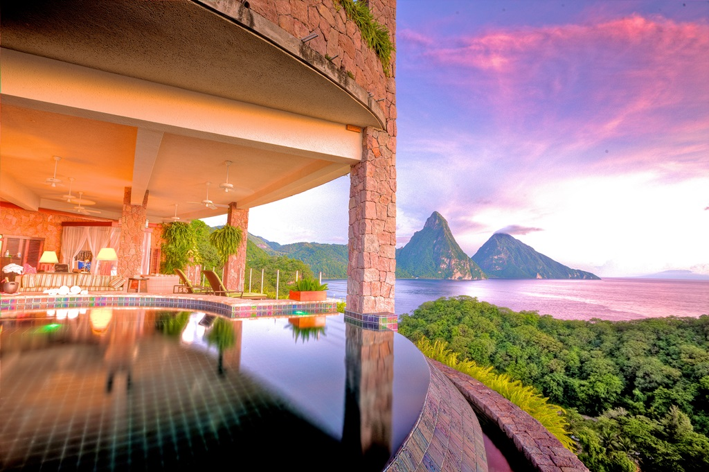 Jade Mountain Best Room