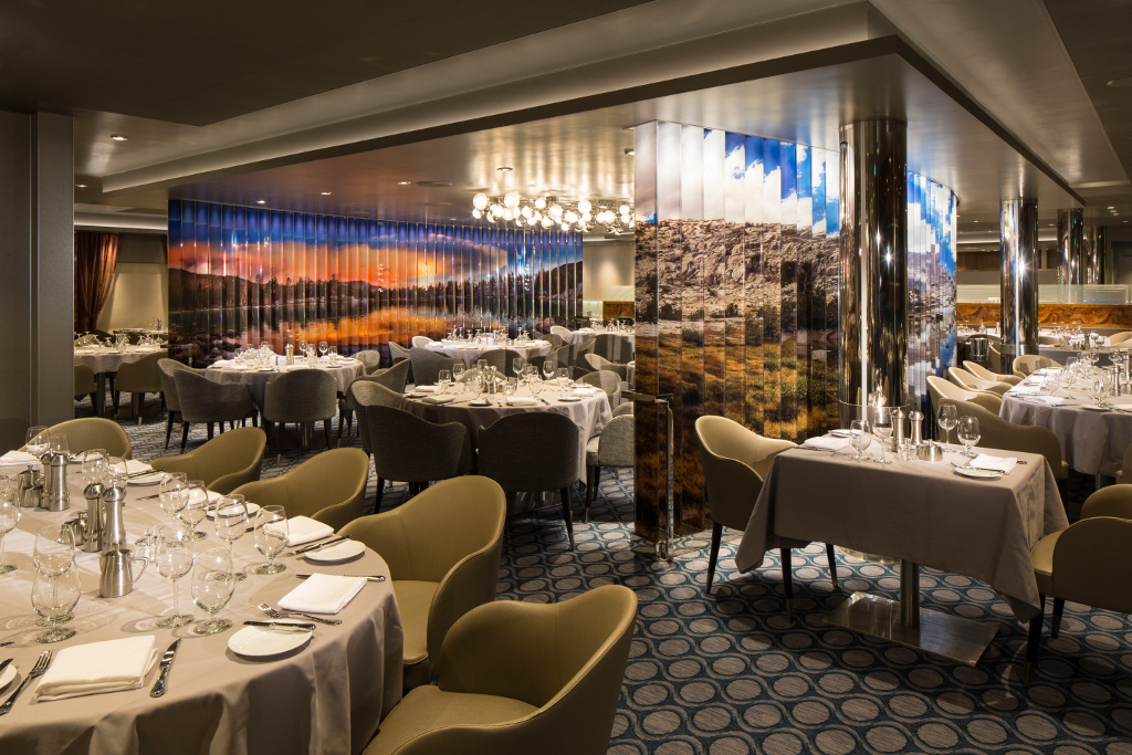 American Icon Restaurant Quantum of the Seas - Royal Caribbean International