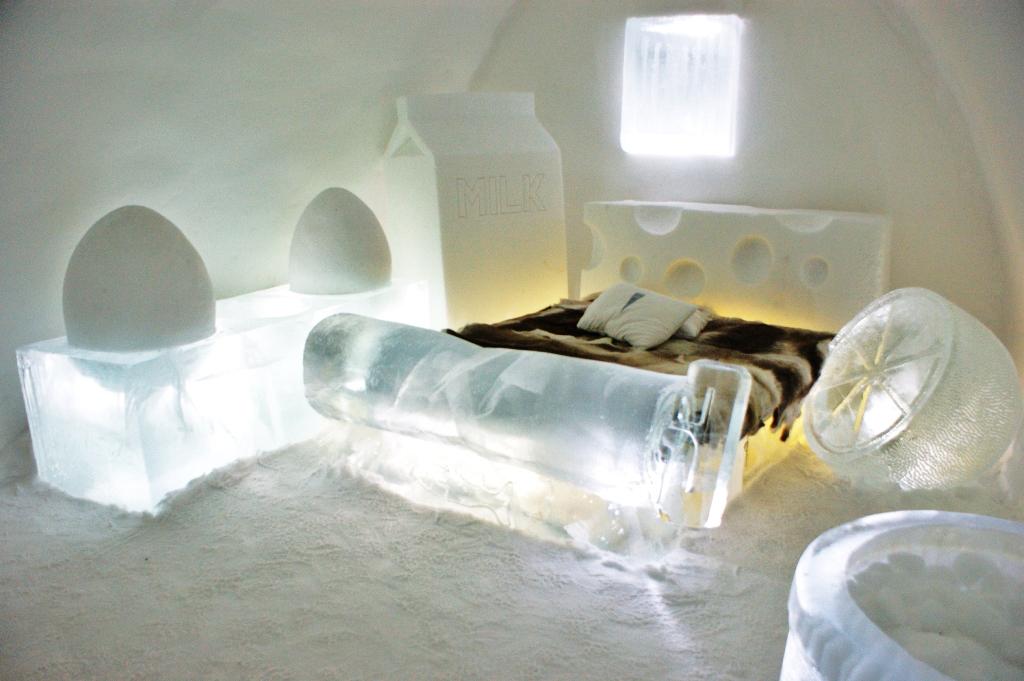 Ice Hotel Room Temperature