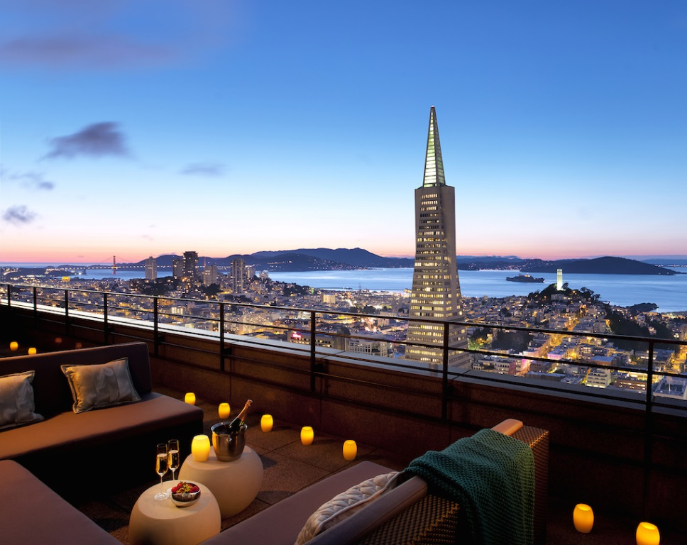 valentine's day dinner in the sky at mandarin oriental san francisco, Ideas
