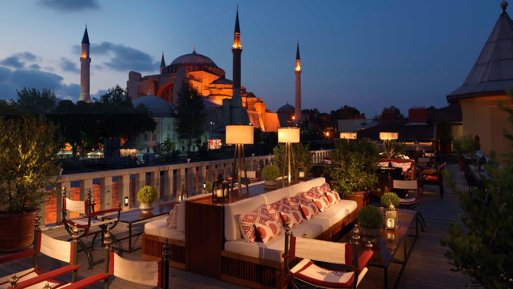 The best rooftop bars in the world for The terrace lounge menu