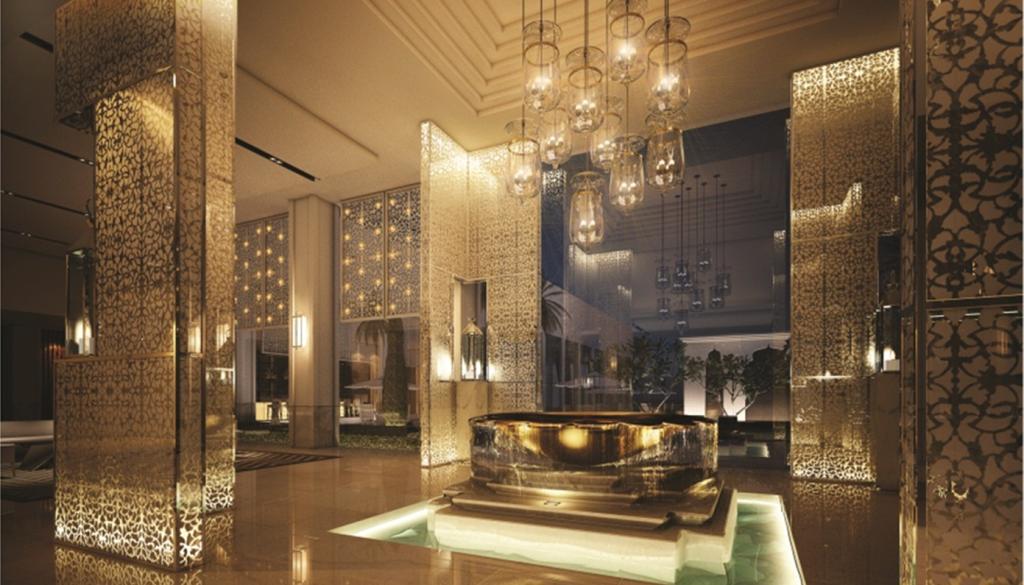 Courtyard by Marriott Agra lobby