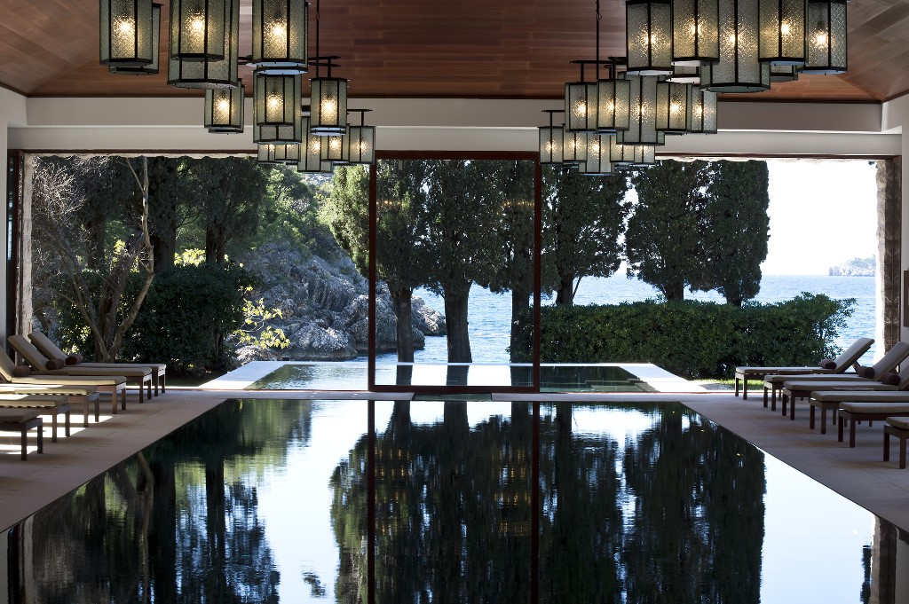 Aman Sveti Stefan Aman Spa - Indoor Pool