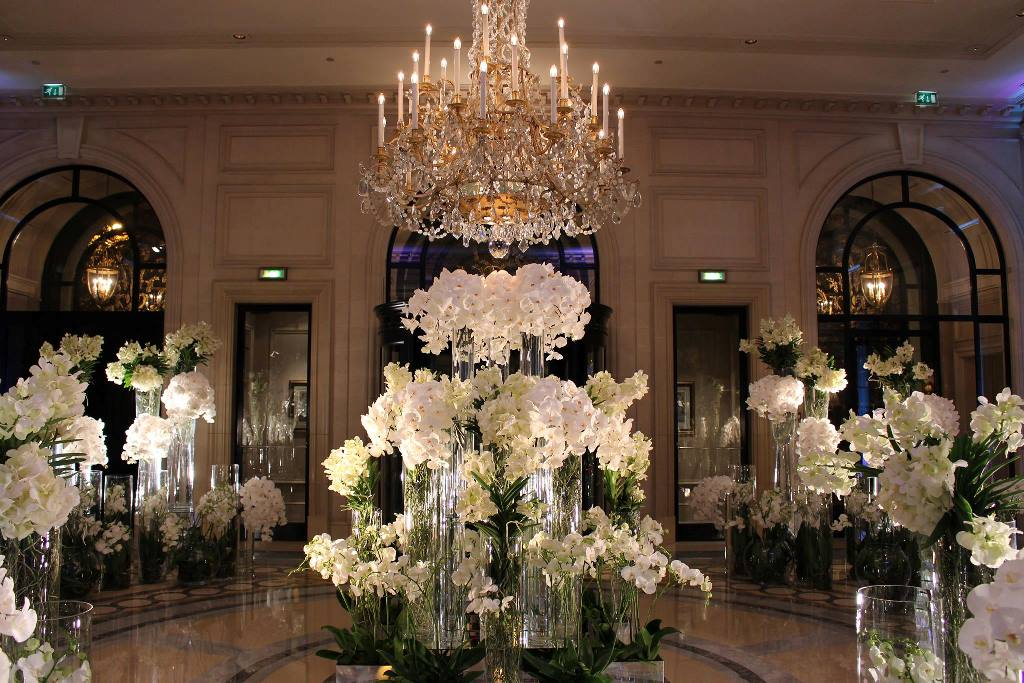 Floral Workshops With Jeff Leatham At Four Seasons Hotel Paris