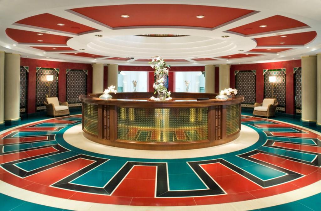 Burj Al Arab - Assawan Spa and Health Club Reception