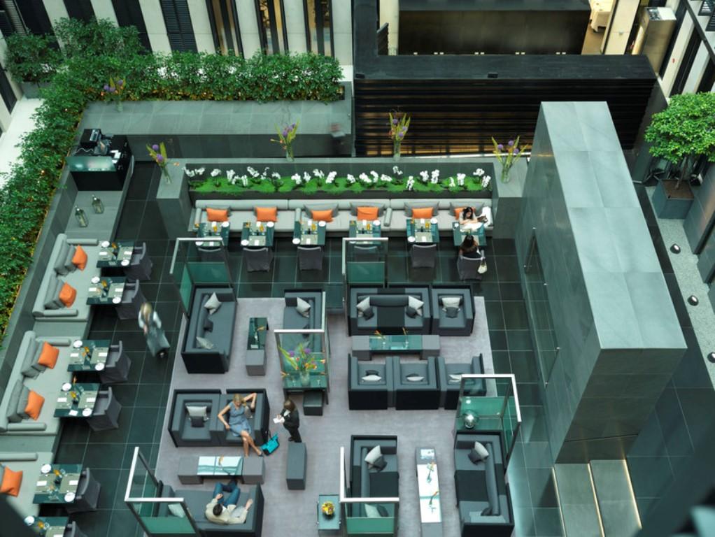 Grosvenor House Apartments by Jumeirah Living - Atrium dining1