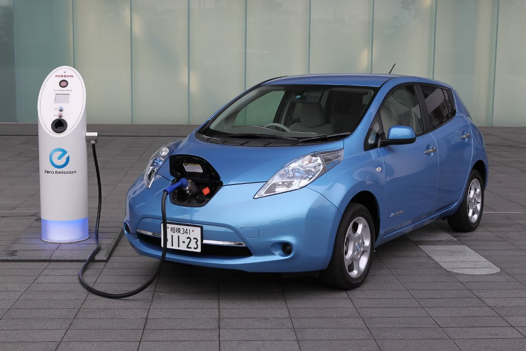 Nissan Leaf Is Running On Clean Electricity