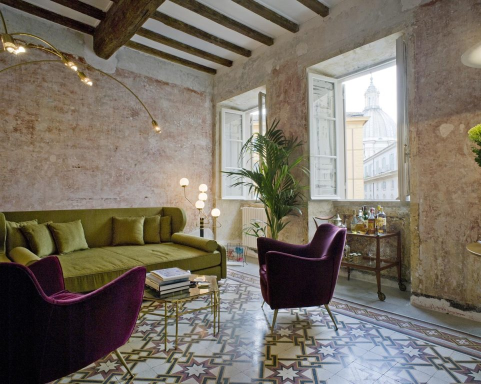 G rough hotel opens in rome for Hotel design rome