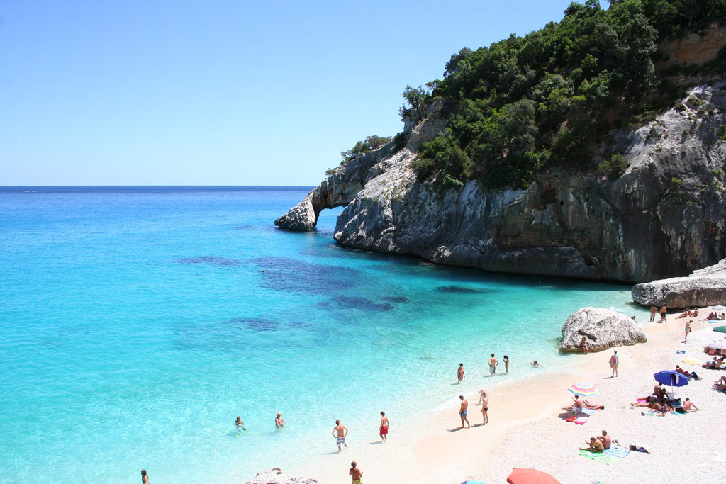 Nudist beach sardinia