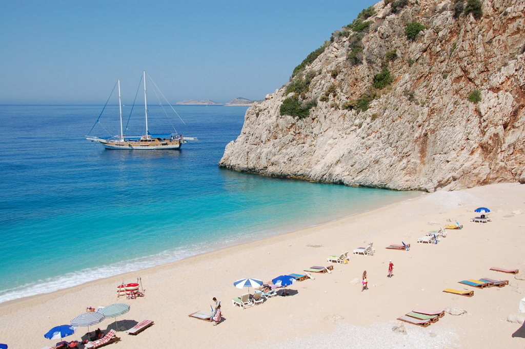 kas beach turkey