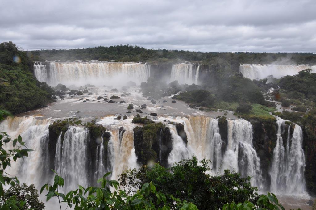 South America; Brazil; Iguazu Falls