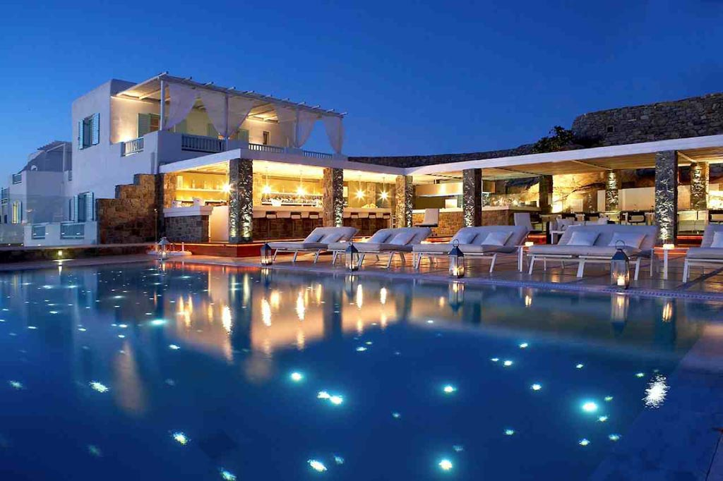 Belvedere Hotel Mykonos Spa