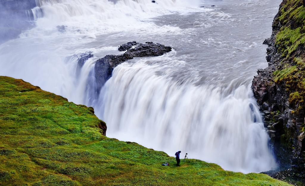 gullfloss waterfall 3