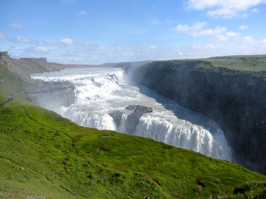 gullfloss waterfall iceland