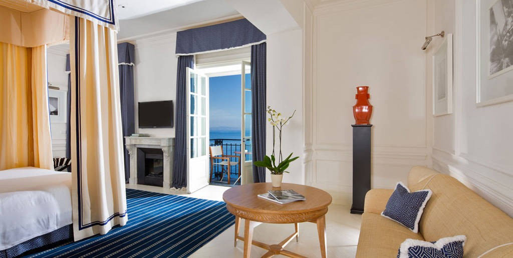 luxury hotels in capri. Black Bedroom Furniture Sets. Home Design Ideas