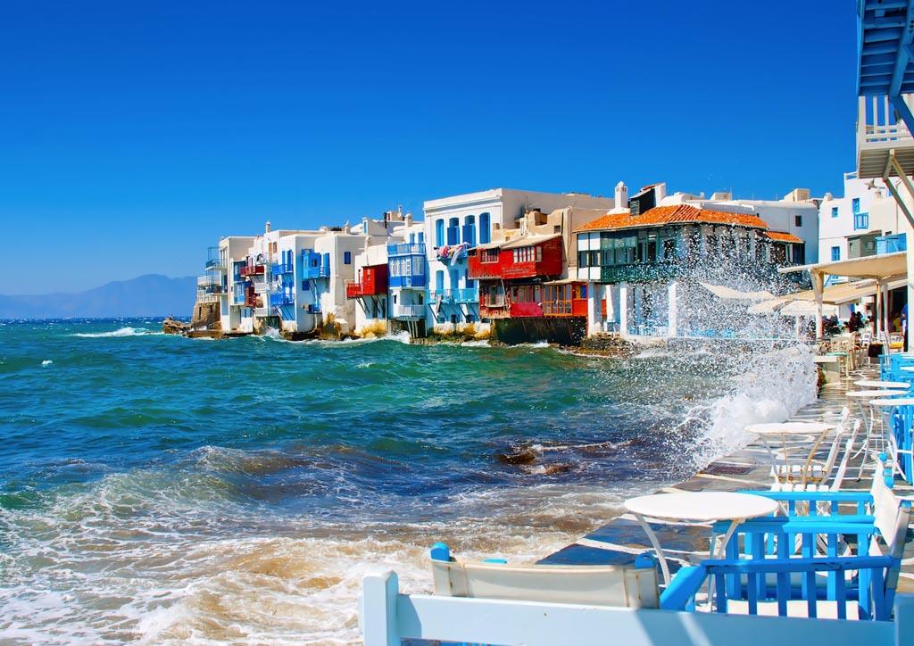 Afbeeldingsresultaat voor Mykonos postcard