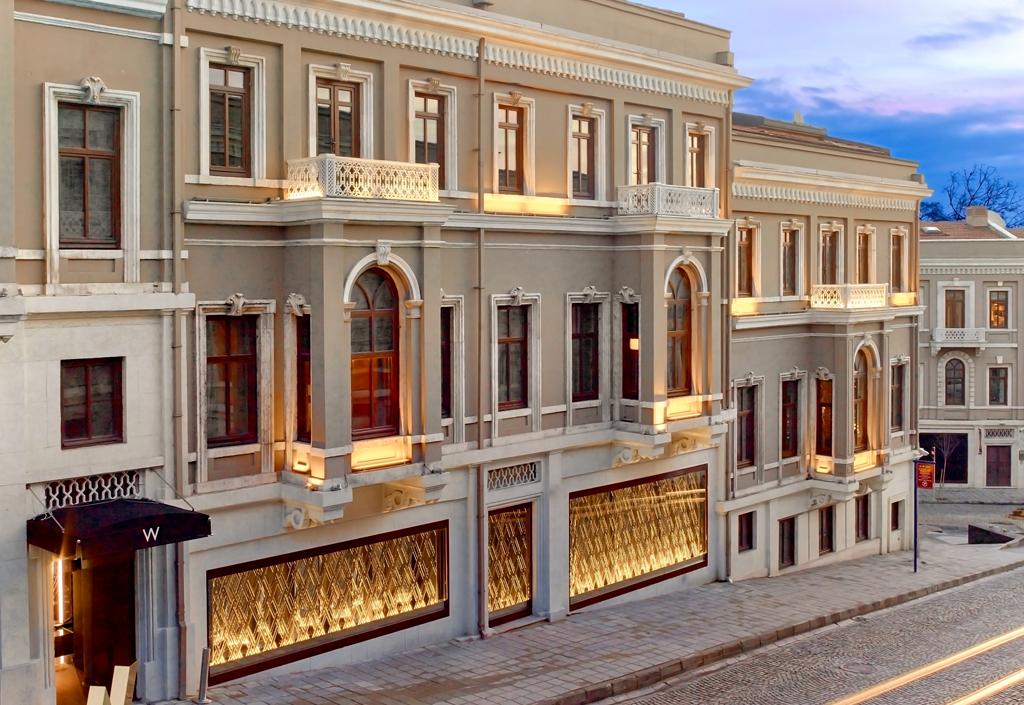 W Istanbul facade...