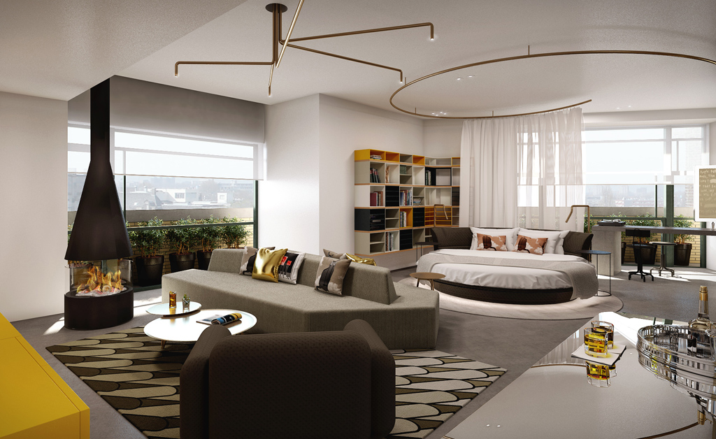 w amsterdam to open in september 2015. Black Bedroom Furniture Sets. Home Design Ideas