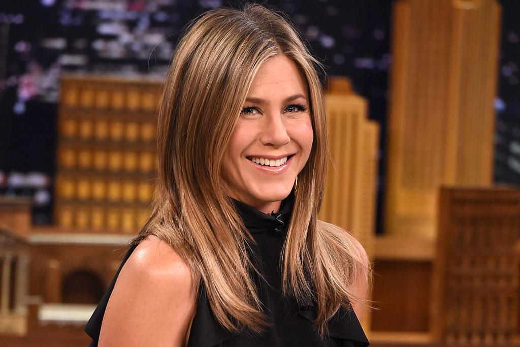 "Jennifer Aniston Visits ""The Tonight Show Starring Jimmy Fallon"""