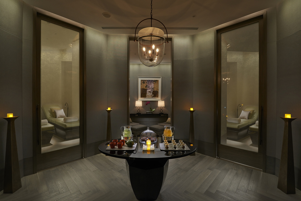 Mandarin oriental taipei has the best luxury hotel spa in for Hotel spa design