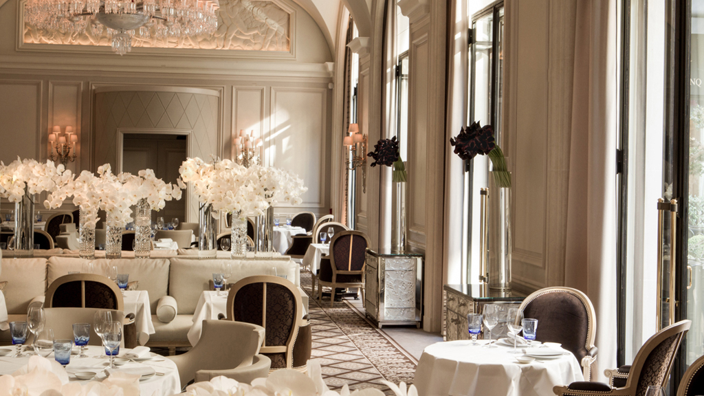 Le George Restaurant Hotel George V Paris Chef