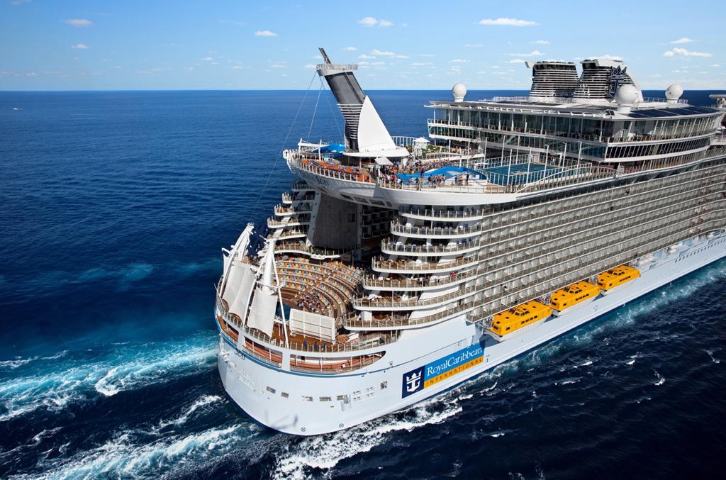 Aerial Oasis of the Seas
