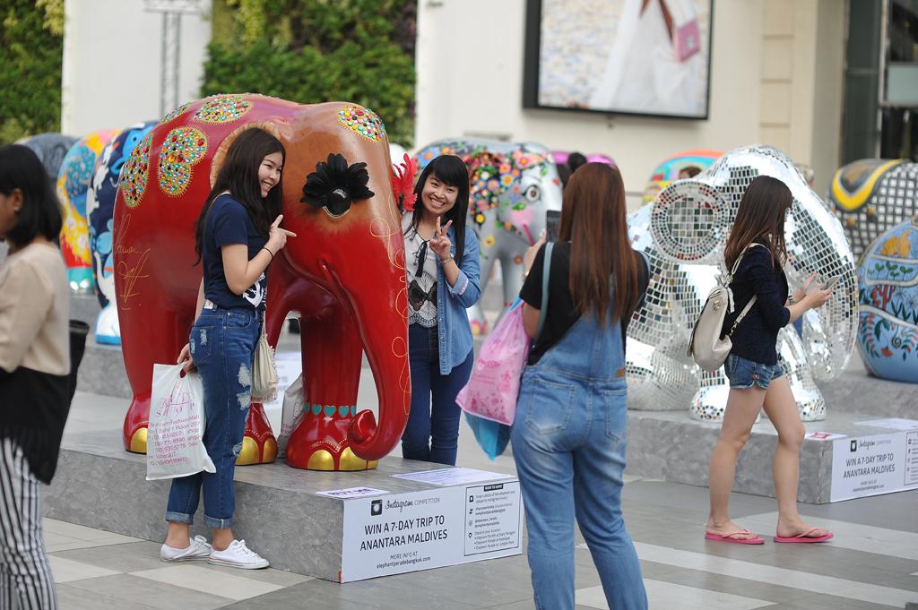 Elephant Parade Bangkok 5