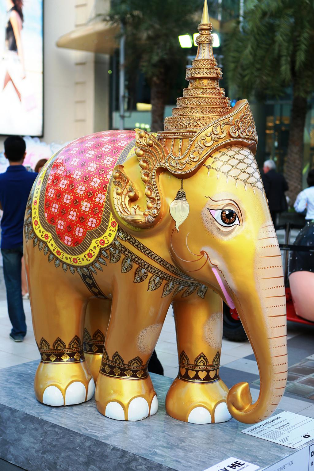 Elephant Parade Bangkok - Royal Elephant