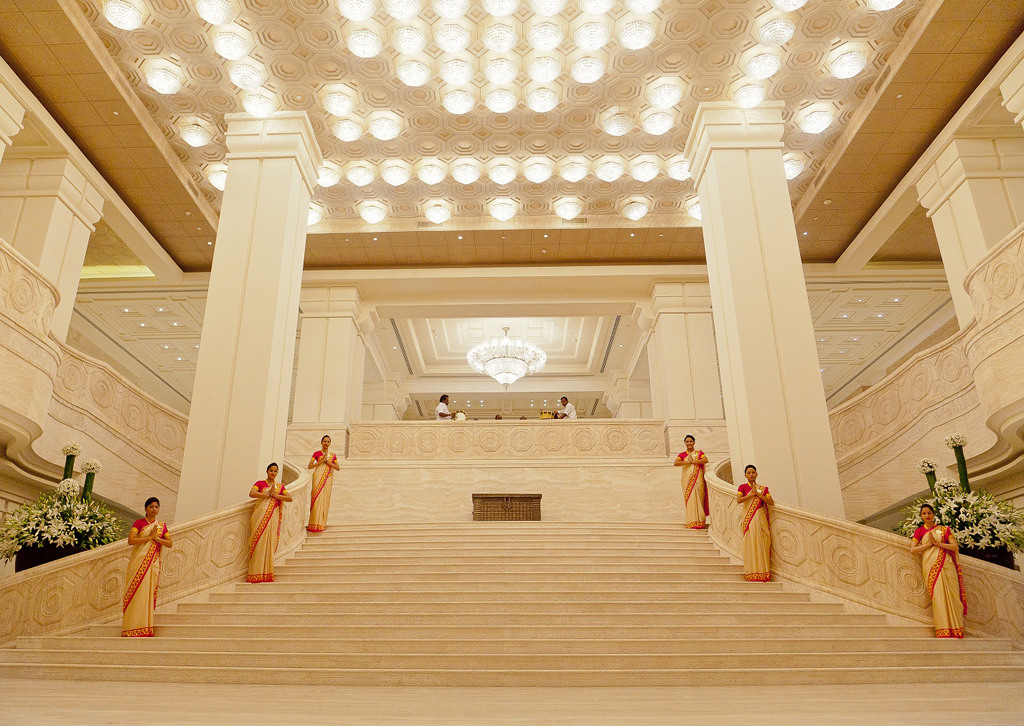 ITC Grand Chola lobby