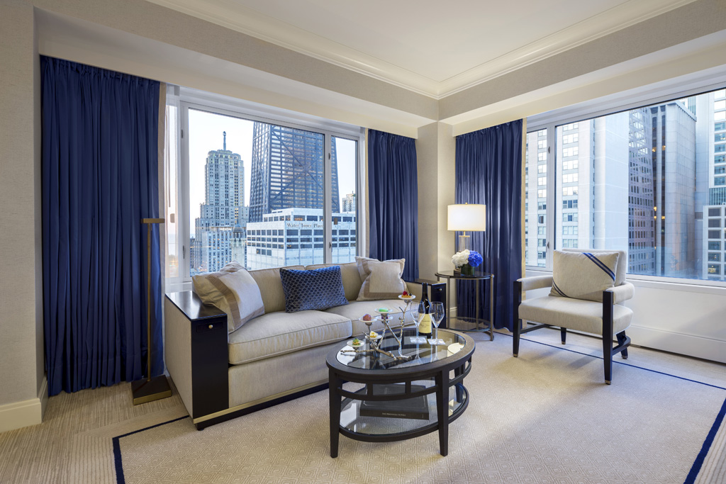 Premier Executive Suite Living Room