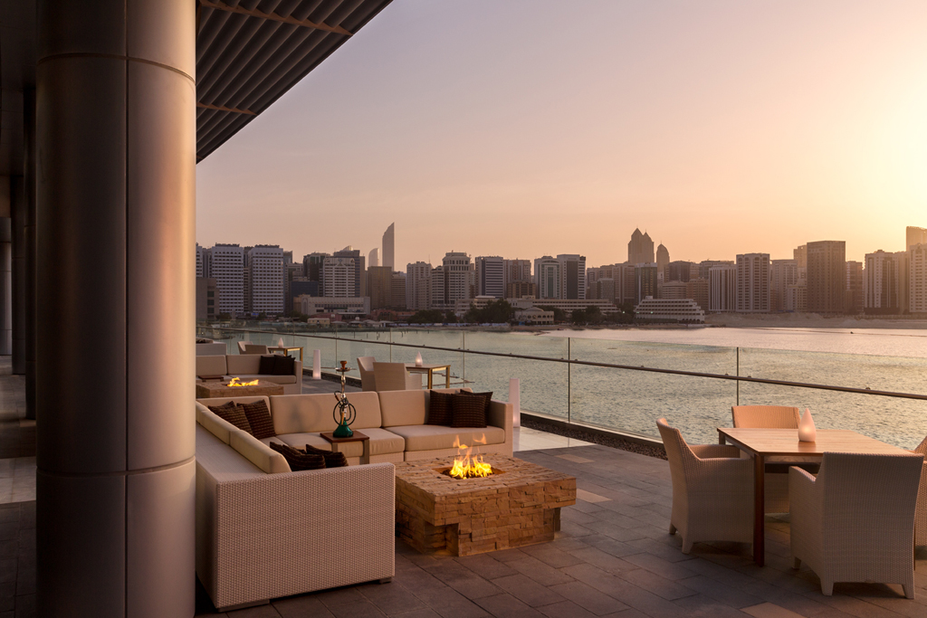 Rosewood Abu Dhabi Smoke Terrace 1