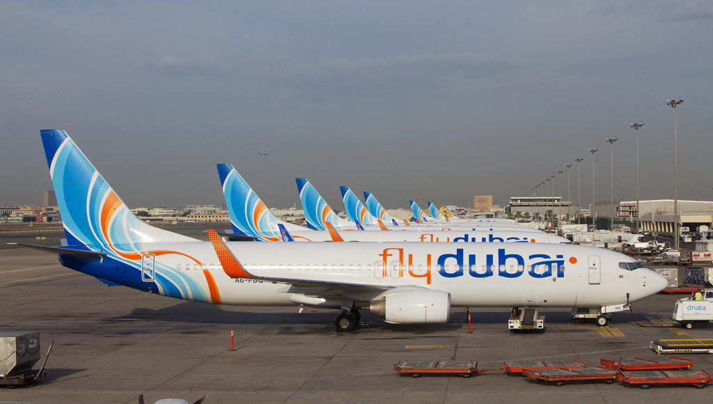 fly dubai business gate 3