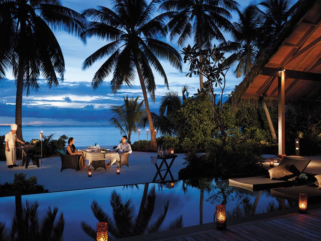 Shangri-La's Villingili Resort and Spa offers Maldives' only golf course