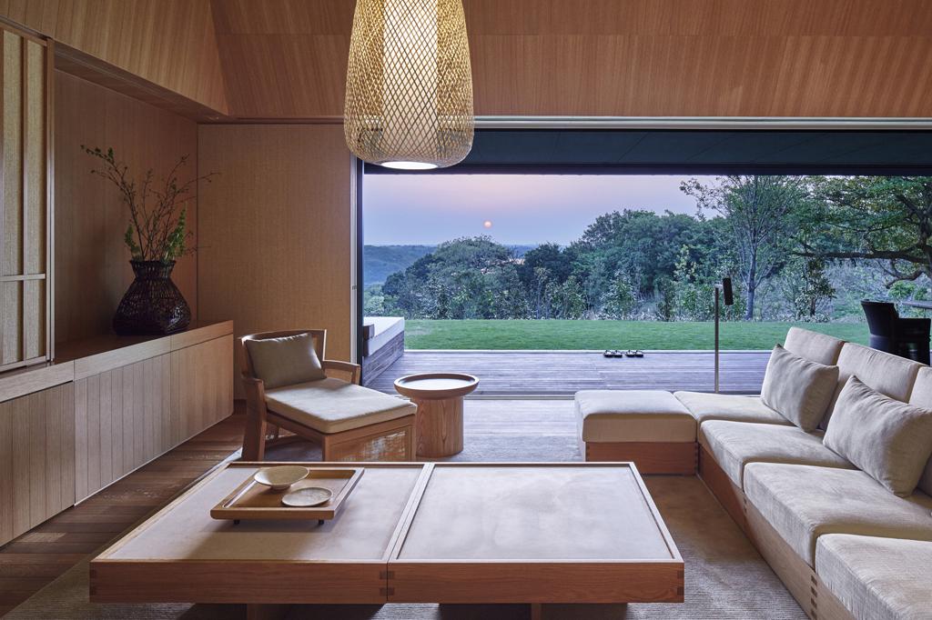Amanemu - Villa living room