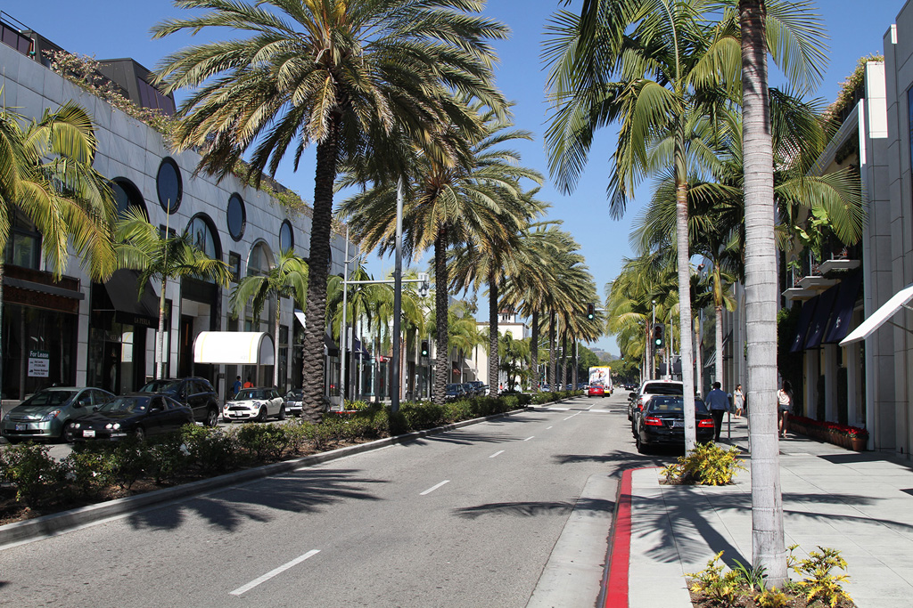 Rodeo Drive Los Angeles 2