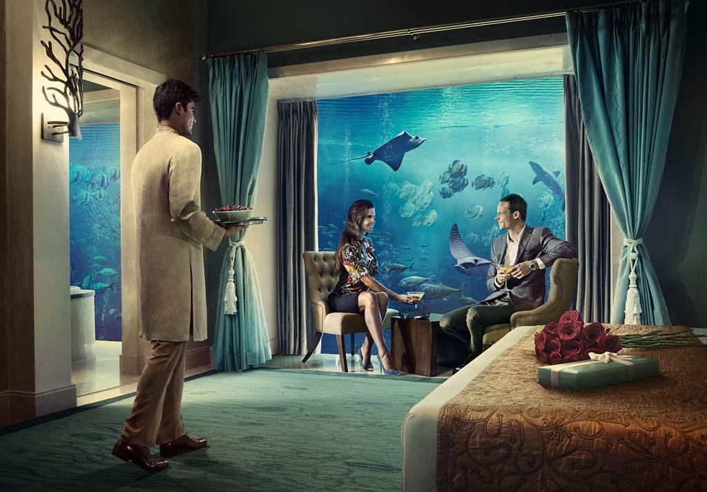 Underwater Restaurant Atlantis WORLD'S BEST UNDERWATE...