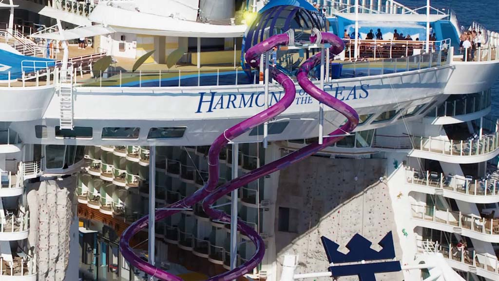First Look At The Tallest Slide At Sea The Ultimate Abyss