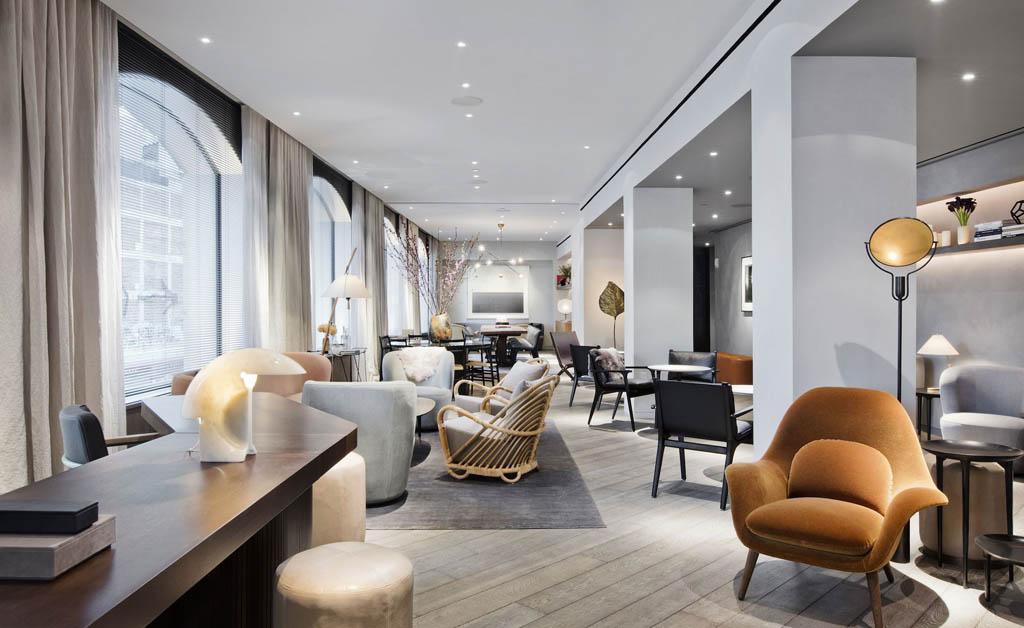 New nordic meets new york at 11 howard hotel for Design hotel copenhagen