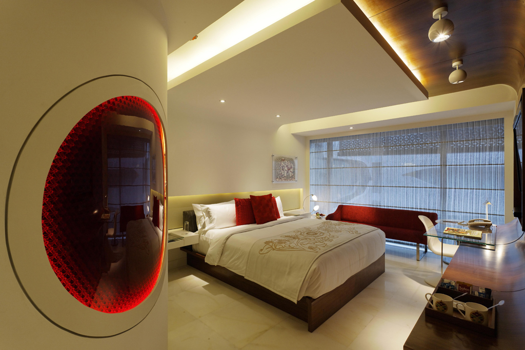 The Park Hyderabad - Luxury Room in Ruby jewel tone