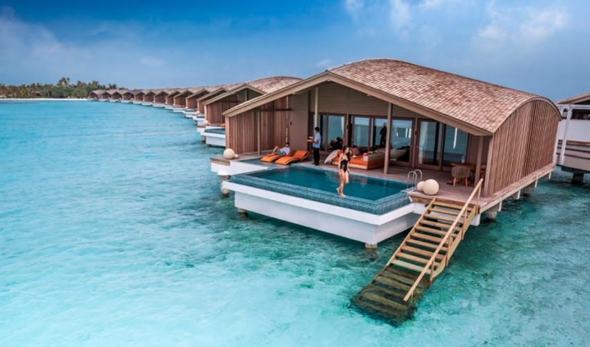 To Celebrate Earth Day The Daily Telegraph Made A List Of Most Famous Eco Friendly Hotels Around World 1 Finolhu Villas Maldives Dubbed As