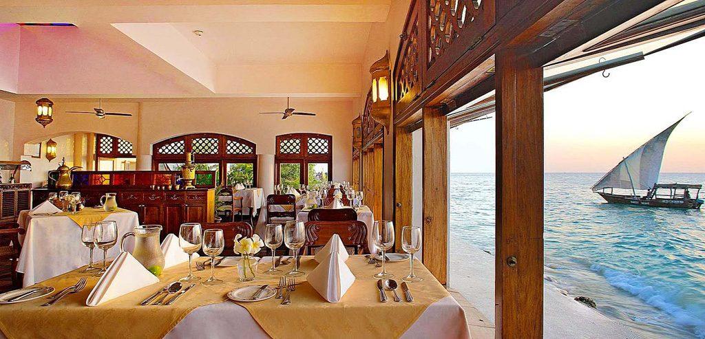 serena zanzibar restaurant