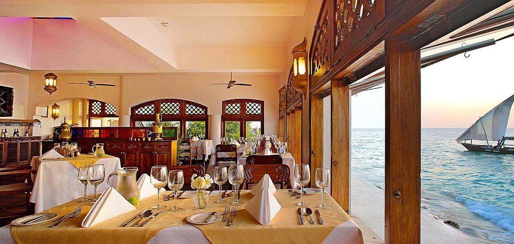 zanzibar serena restaurant