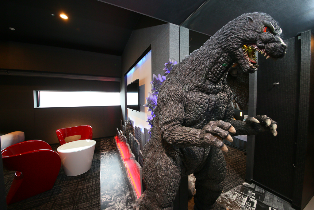 Hotel Gracery Shinjuku Godzilla Room