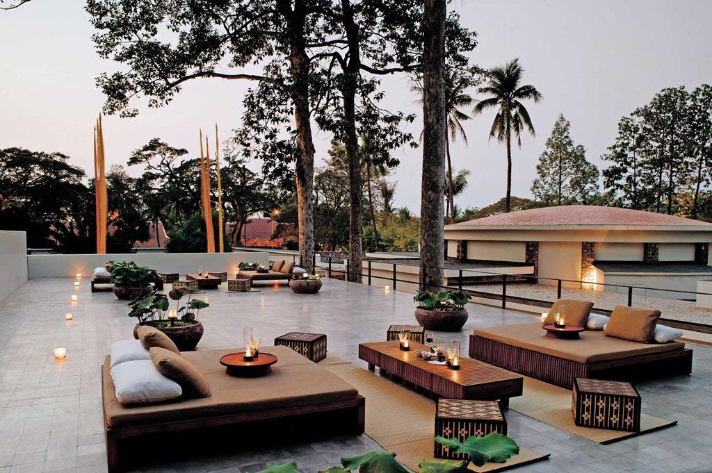Amansara - Roof Terrace