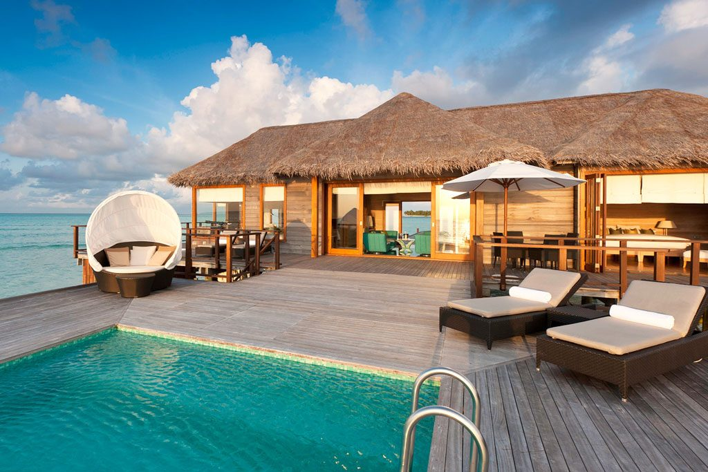 The most amazing water villas in the world for Conrad maldives rangali islands maldives