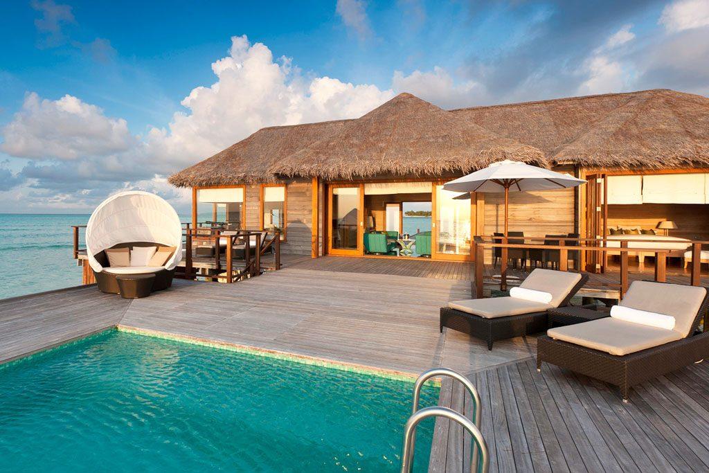 The most amazing water villas in the world for Hotel conrad maldivas islas rangali